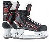 CCM Unisex SK360J JS SR Player Skates, 11D