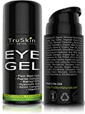 TruSkin Eye Gel Advanced Formula, Plant Based with Hyaluronic Acid and Vitamin E