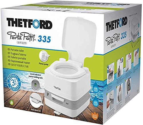 Thetford Campingtoilette Porta Potti Qube 335, mit Frischwassertank 10 Liter