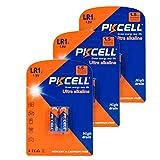 1.5v Alkaline Battery lr1 N Size Count 6Pcs