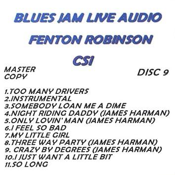 Blues Jam Live Audio: Fenton Robinson