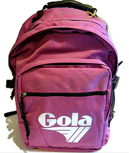 GOLA Zaino Brody 2 -Cub 231 Melange Red - h. 42x30x13 cm