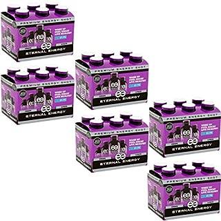 Eternal Energy Premium Energy Shot (Grape, 6 count, Pack of 6)