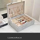 Caja de almacenamiento de joyas