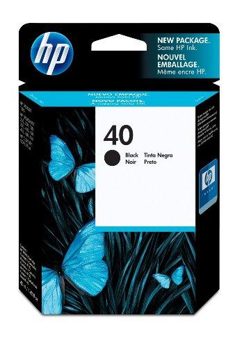 Original Tinte HP 40 NO40 51640AE Premium Drucker Patrone Schwarz 1120 Seiten 42 ml