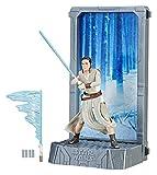 STAR WARS Hasbro The Black Series – Titanium – Rey (Base Starkiller) – Figurine Articulée 9,5 cm et Décor