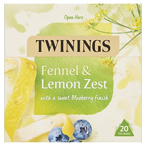 Twinings Fennel and Lemon Zest Herbal Tea bags - 20 Tea bags