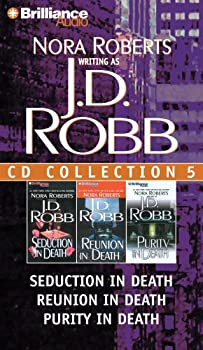 Audio CD J. D. Robb CD Collection 5: Seduction in Death, Reunion in Death, Purity in Death (In Death Series) Book