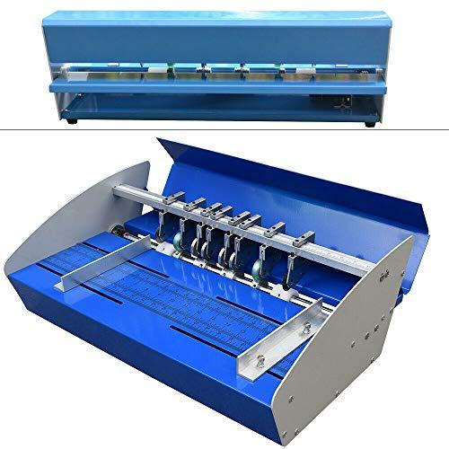"""Faltmaschine Rillmaschine FalzmaschinenElektrische Nutmaschine Papier Creaser 18"""" 46cm Perforiergerät"""