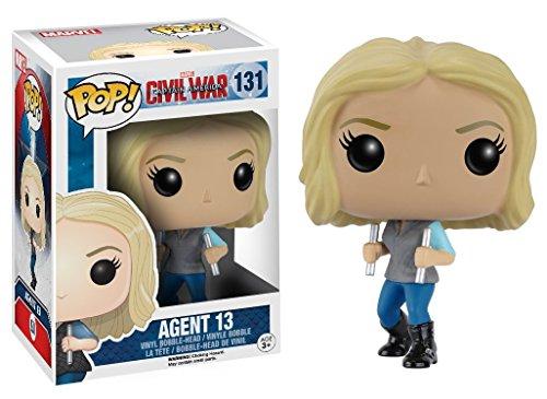 POP! Bobble - Marvel: Captain America CW: Agent 13