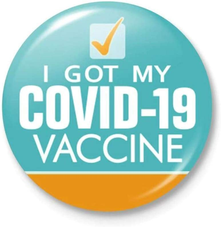 contro i distintivi per la salute pubblica e clinica vaccinato 4 spille vaccinate per il vaccino per il pin virus Tiantian
