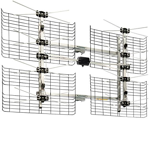 Antennas Direct 8-Element High Gain Bowtie TV Antenna, 60 Mile Range,...