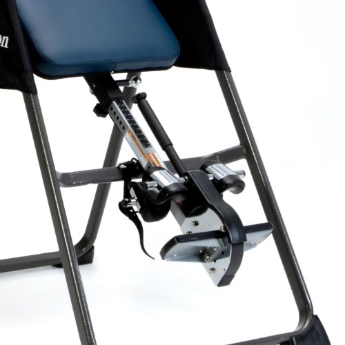 Product Image 3: IRONMAN Gravity Highest Weight Capacity Inversion Table with Optional No Pinch AIRSOFT Ankle Holder, (l x w x h):49.00 x 26.00 x 65.00 in, 5402
