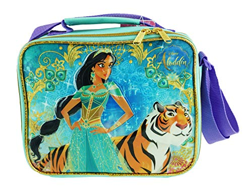 Disney's Princess Jasmine Insulated Lunch Box With Adjustable Shoulder Straps - Magic Lamp - A17328