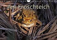Am Froschteich (Wandkalender 2022 DIN A4 quer): Kroeten & Co. (Monatskalender, 14 Seiten )