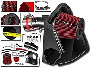 RTUNES RACING - BLACK - HEAT SHIELD COLD AIR INTAKE Compatible For 2007-2012 NISSAN ALTIMA 3.5L V6