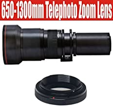 650-1300mm High Definition Telephoto Zoom Lens for Olympus E-1, E-3, E-5, E-30, E-300, E-330, E-410, E-420, E-450, E-500, E-510, E-520, E-600, & E-620 Digital SLR Cameras