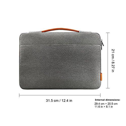 Inateck12Zoll NeuesMacBookRetinaDisplayHülleTasche,Case Sleeve für Apple New MacBook 2015
