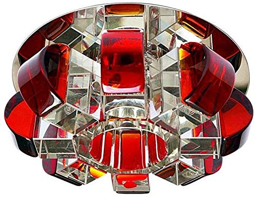 Voltage-111V-240V, Farbtemperatur Material Kristall, D-J, Rotbraune Trompete