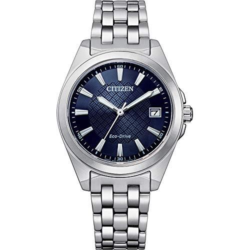 Citizen Eco-Drive EO1210-83L - Reloj de pulsera para mujer (acero inoxidable)