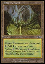 Magic The Gathering - Slippery Karst - Urza's Saga
