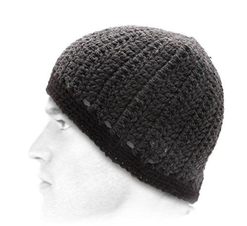 BMC Headwear - Bonnet - 2 Coloris - Homme ou Femme The Vapor - Charcoal-Noir