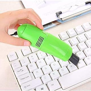 Mini Computer Staubsauger USB Tastatur Reiniger PC Laptop Pinsel Staub Reinigungsset Staubsauger Computer Clean Tools Hellblau