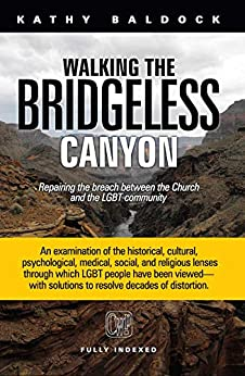 Walking the Bridgeless Canyon: Repairing the Breach Between the Church and the LGBT Community by [Kathy Baldock]