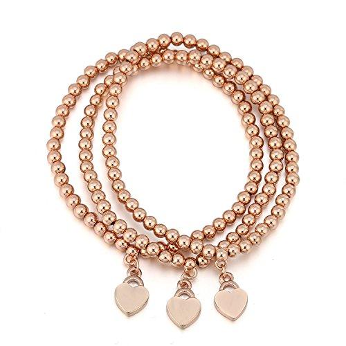 Ablaze Jin women jewelry Beaded Love Bracelet Lady Beads simple personality creative wristband