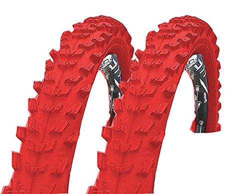KENDA 2 x K829 Fahrrad Reifen 24 x 1,95 | 50-507 rot Set NEU