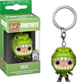 Funko Fortnite llavero con anilla Rex Pocket POP! 4cm