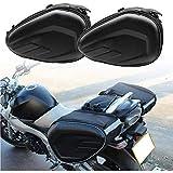 Motorcycle Saddlebags Saddle Bags 2pcs 15 Gallon Universal Expandable Motorcycle Pannier Saddlebags Rear Seat Left Right Luggage Storage Bag Waterproof Wearproof