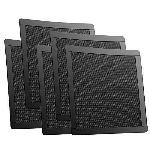 PC ケースファン 140㎜用 防塵 マグネット グリル メッシュ ファン フィルター 5枚入り