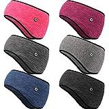 6 Pieces Fleece Ear Warmers Headband Ear...