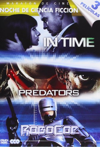 In Time / Predators / Robocop (Import) (Dvd) (2014) Justin Timberlake; Amanda Se