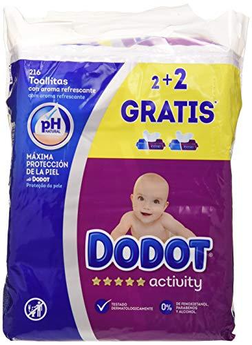 Dodot Activity Toallitas, 648 toallitas