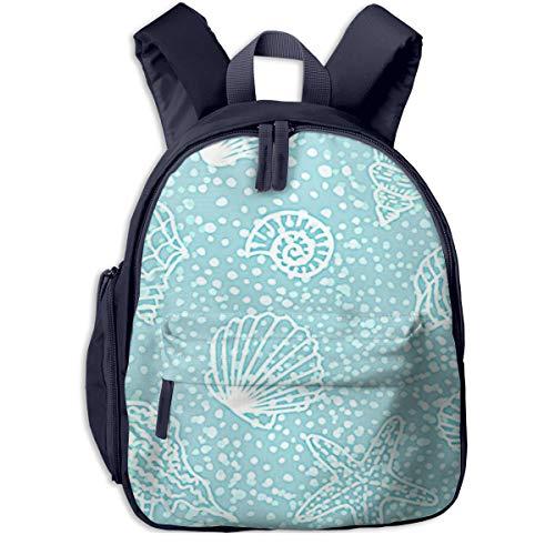 Kinderrucksack Kleinkind Jungen Mädchen Kindergartentasche Strandmuscheln E Backpack Schultasche Rucksack