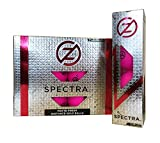 Zero Friction Spectra Golf Balls (One Dozen), Neon Fuchsia