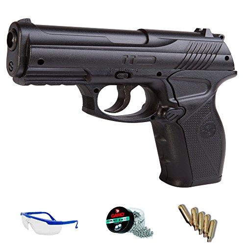C11 Pack Pistola de Aire comprimido - Crosman CO2 balines de Acero BBS <3,5J