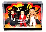 Mattel Year 2009 Barbie Pink Label Collector Series 3 Pack 4-1/2 Inch Doll Gift Set - Sabrina, Jill and Kelly as CHARLIE's ANGELS (N6583)