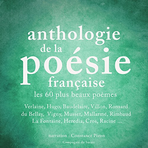 Anthologie de la poésie française audiobook cover art