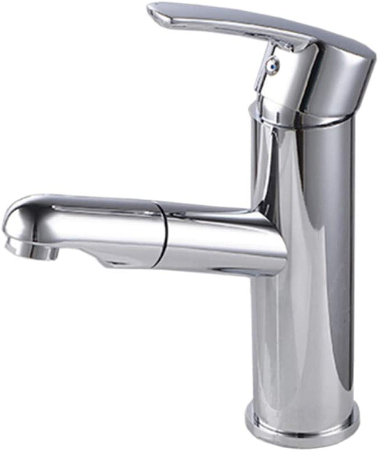 Basin Faucetcopper Faucet Hot and Cold Pull Basin Faucet
