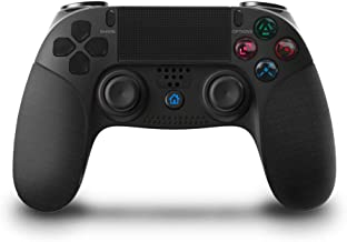 Game Controller for PS4, KINGEAR Pro Wireless Controller Gamepad for Playstation 4 with Dual Vibration - Black