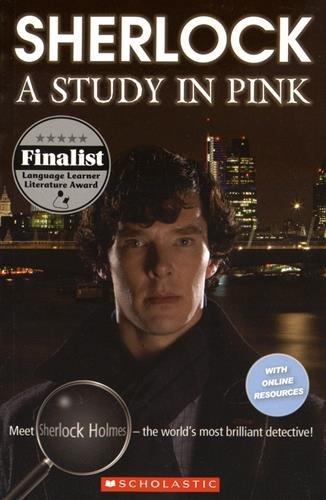 『Sherlock: A Study in Pink (Scholastic Readers)』のトップ画像