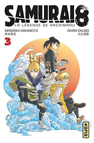 Samurai 8 - la Légende de Hachimaru Edition simple Tome 3