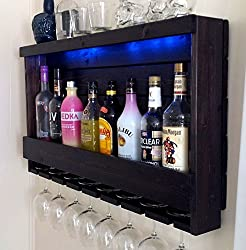 mini bar design for small house ~ wall stacked unit