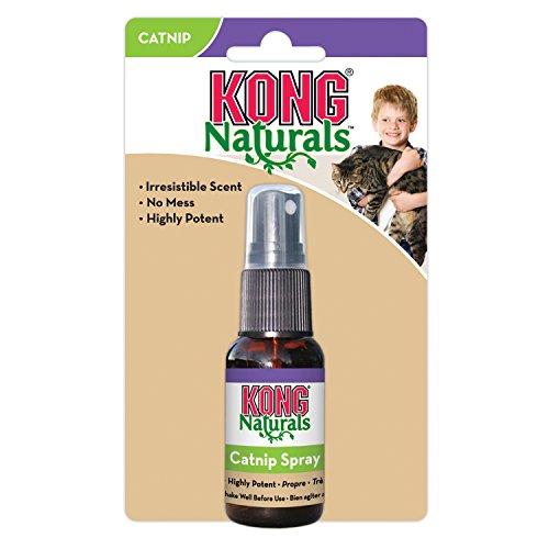 KONG - Naturals Catnip Spray for Cats - 30 ml (1 Onza fluida)