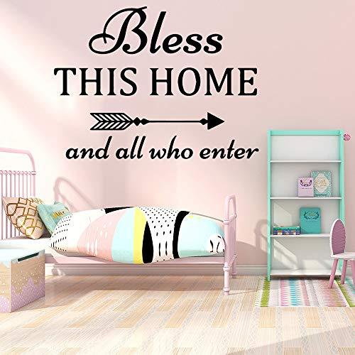 Cute This Home Wall Art Decals decoración Pegatinas de Moda habitación de los niños Sala de Estar decoración del hogar 33X44cm