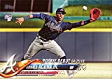 2018 Topps Update Baseball #US252 Ronald Acuna Jr. Rookie Debut Card. rookie card picture