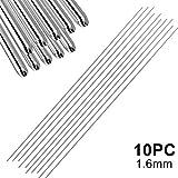 feeilty Facile Alluminio Saldatura Canne A Bassa Temperatura per La Riparazione 1,6 Millimetri 2Mm Bisogno Saldare in Polvere (5 10 20 Pc)